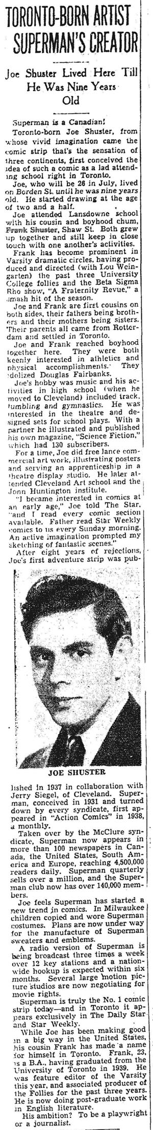 star 1940-03-14 profile of joe shuster