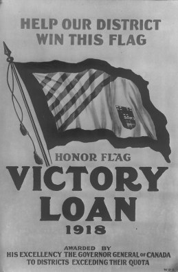 Poster advertising Victory Loan drive, 1918. City of Toronto Archives, Fonds 1244, Item 739.