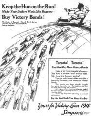 Toronto World, November 2, 1918.