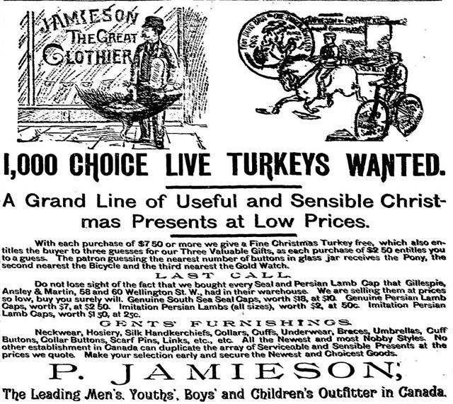 globe 1890-12-20 live turkeys
