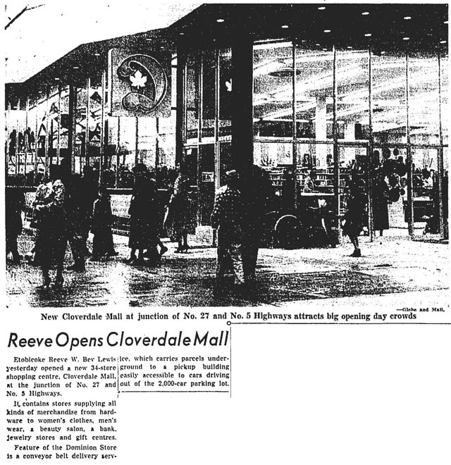 gm 1956-11-16 cloverdale mall opening