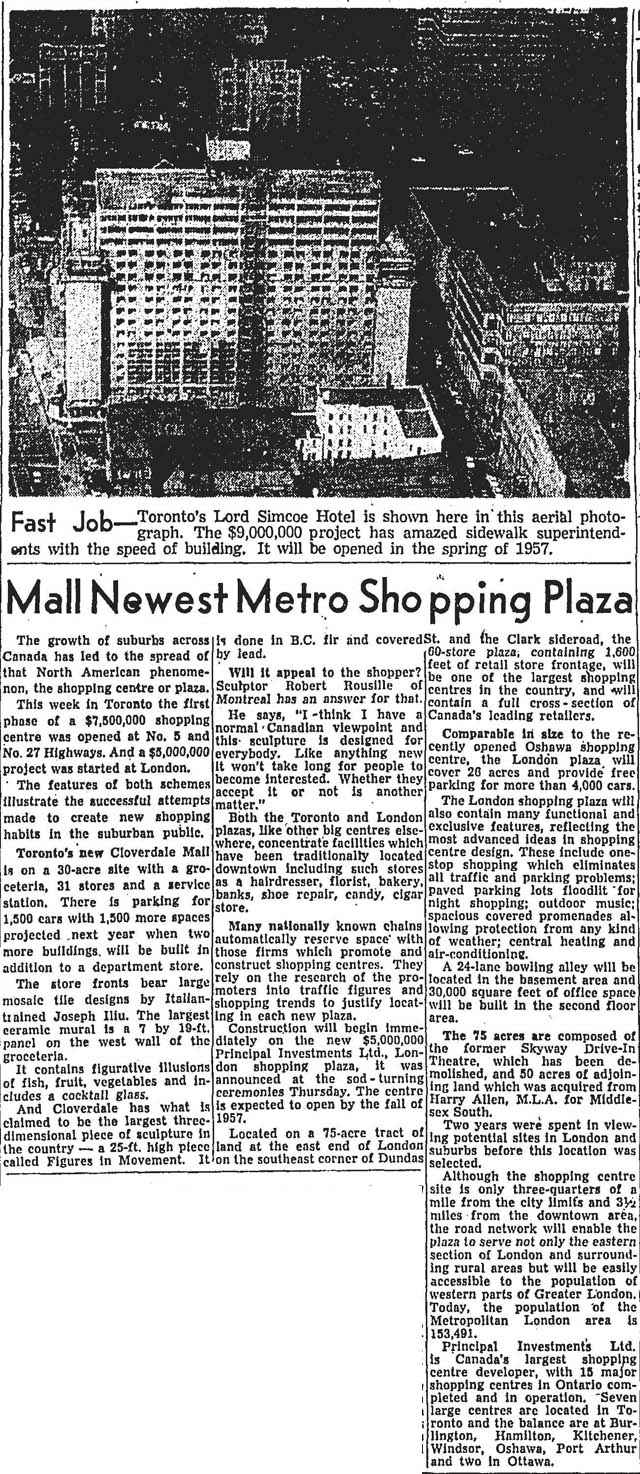 gm 1956-11-17 cloverdale mall opens