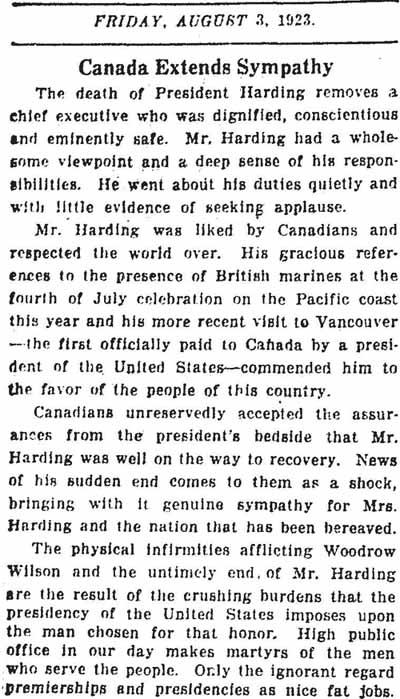 star 1923-08-03 editorial