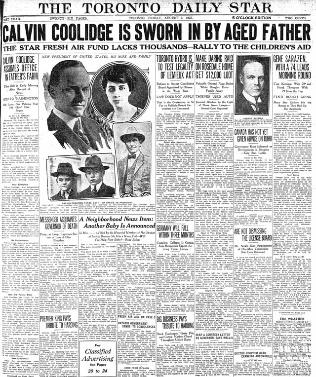 star 1923-08-03 page 1