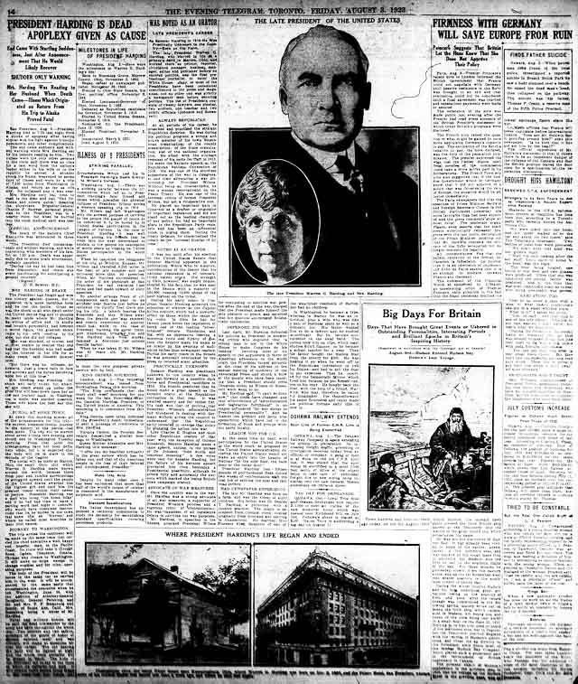 tely 1923-08-03 death of harding
