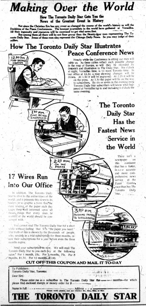be 1919-01-31 toronto star ad