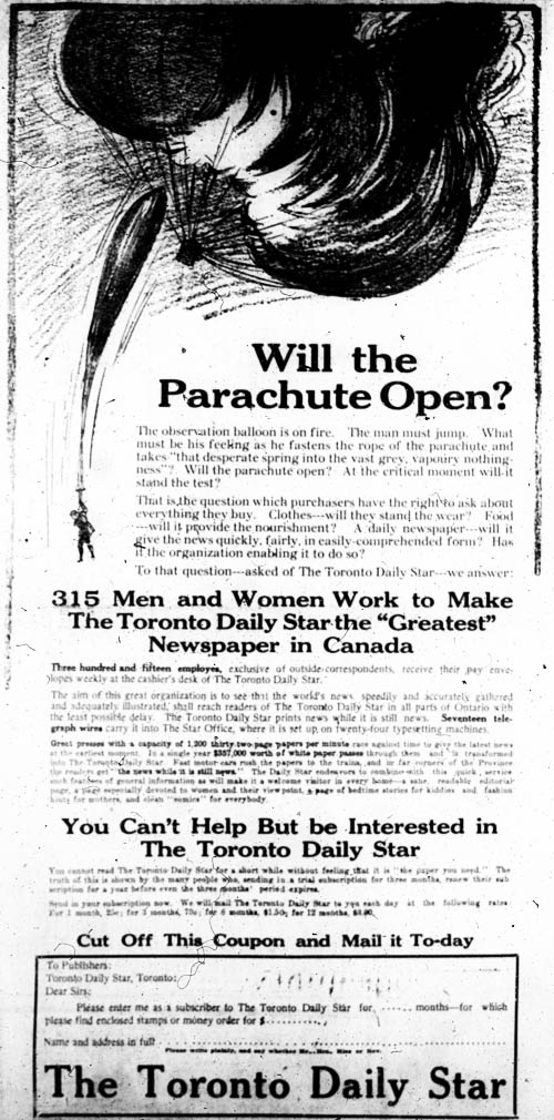 be 1919-02-28 toronto star ad