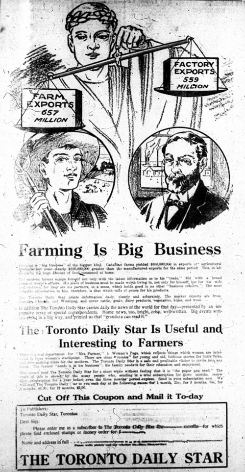 be 1919-03-14 toronto star ad