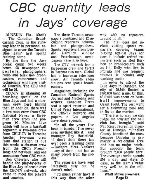 gm 1977-03-21 cblt spring training coverage