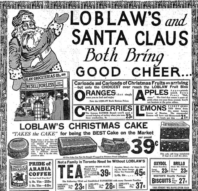 star 1930-12-18 loblaws xmas ad