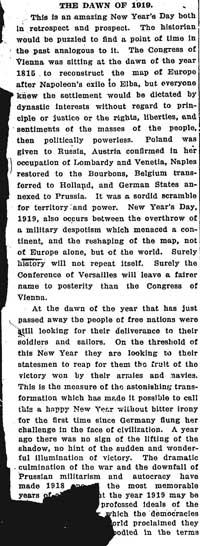 globe 1919-01-01 editorial