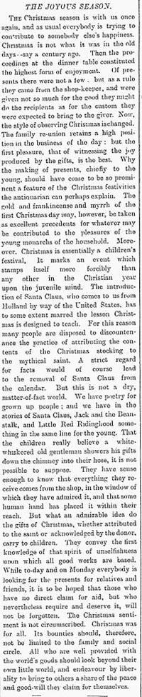 mail 1888-12-22 xmas editorial