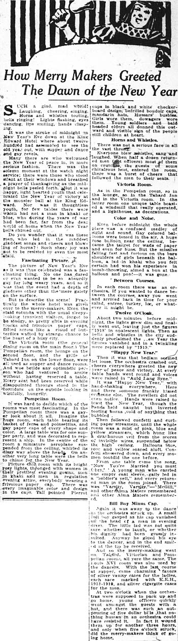 news 1919-01-02 how merry makers greeted dawn of the new year