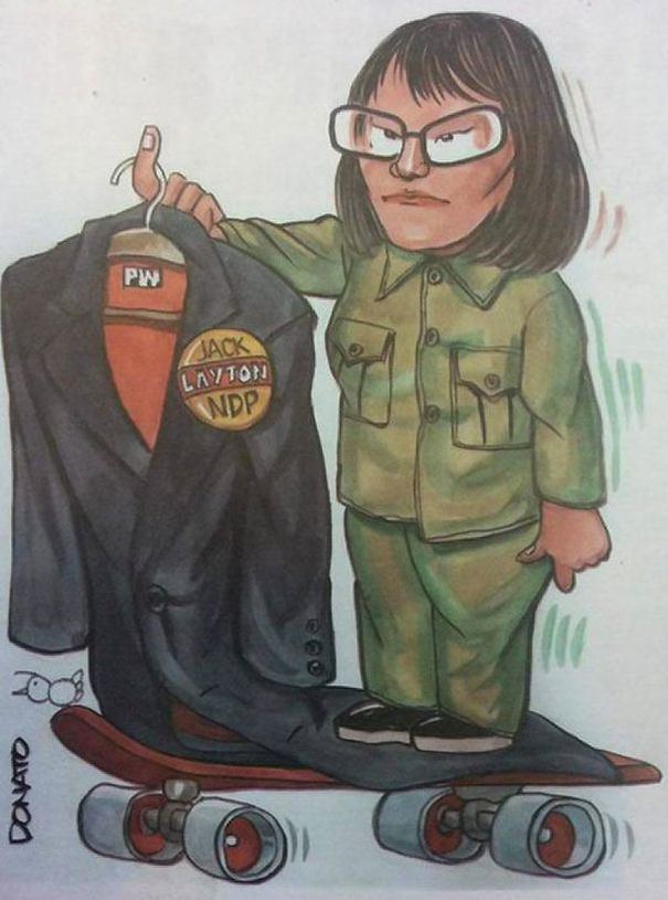 olivia chow cartoon donato