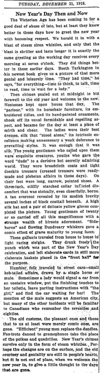 star 1918-12-31 editorial