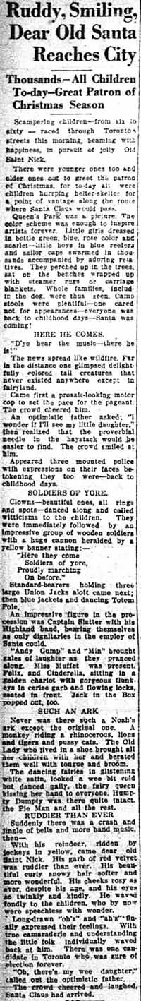 tely 1926-11-20 santa claus parade story