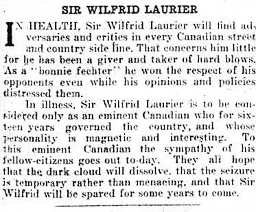 news 1919-02-17 laurier editorial
