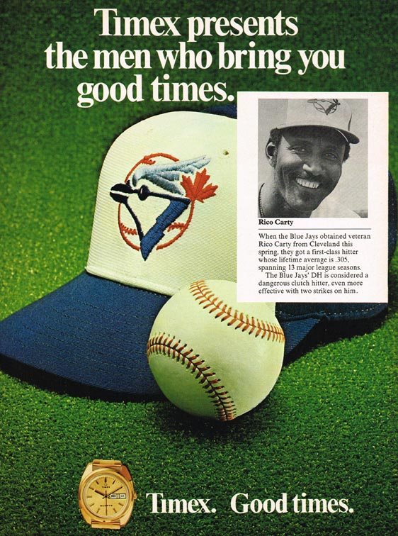 1978 blue jays timex small