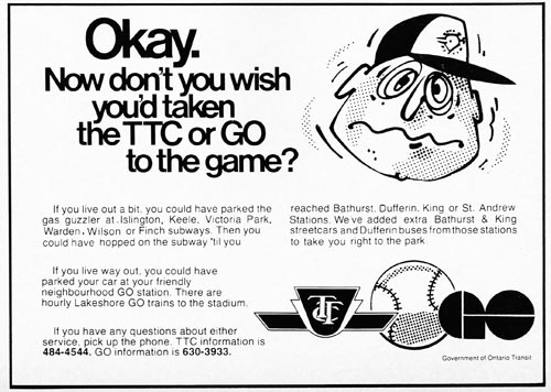 1978 blue jays ttc
