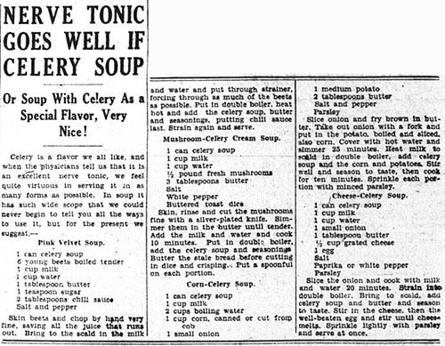 me 1933-03-03 page 10 celery soup