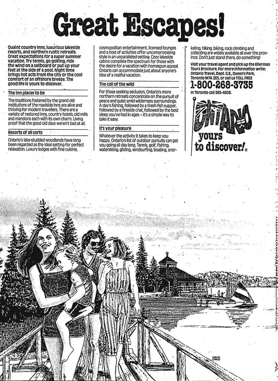 star 1982-05-03 great escapes ad