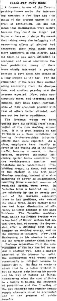 me 1919-05-28 sober men want more editorial