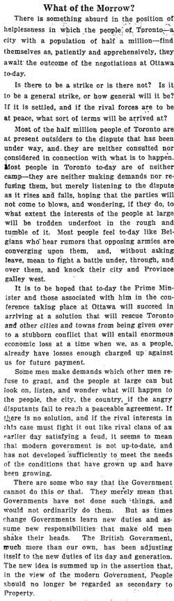 star 1919-05-29 editorial