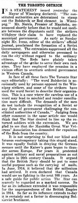 times 1919-05-23 editorial criticizing star