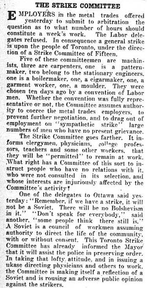 times 1919-05-30 editorial