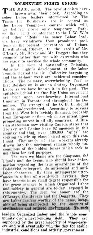 times 1919-06-02 editorial