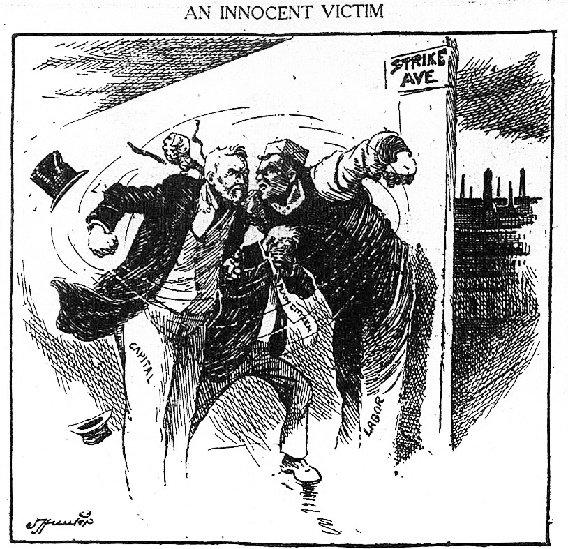 world 1919-06-03 editorial cartoon
