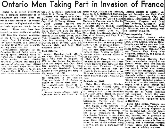 gm 1944-06-07 page 7 ontario men in invasion