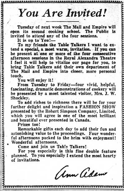 me 1933-03-30 show invitation