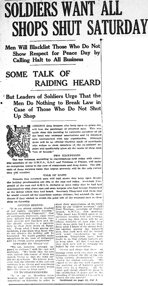 hh 1919-07-17 soldiers want all shops shut 1