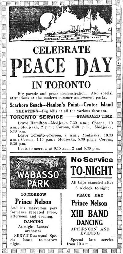 hs 1919-07-17 celebrate peace day in toronto ad