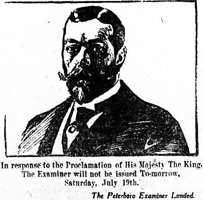 pe 1919-07-18 cartoon of george v and proclamation