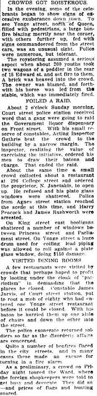 tely 1919-07-21 how toronto celebrated visiting dining rooms