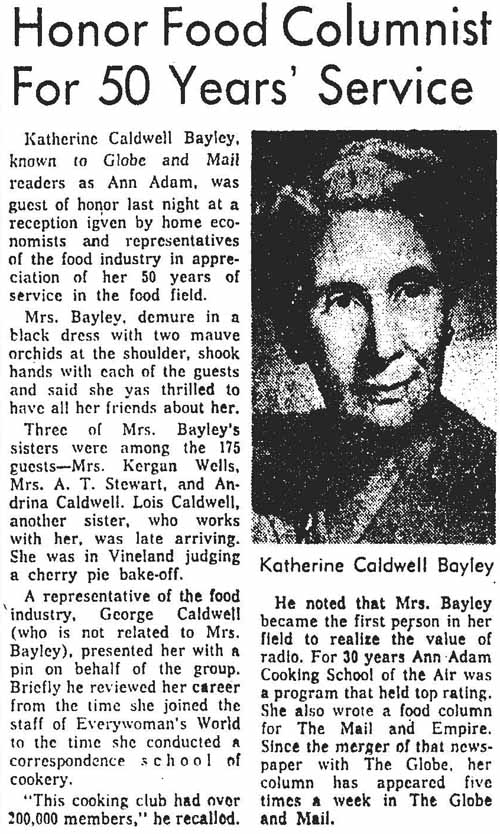 gm 1963-02-27 honor food columnist for 50 years service
