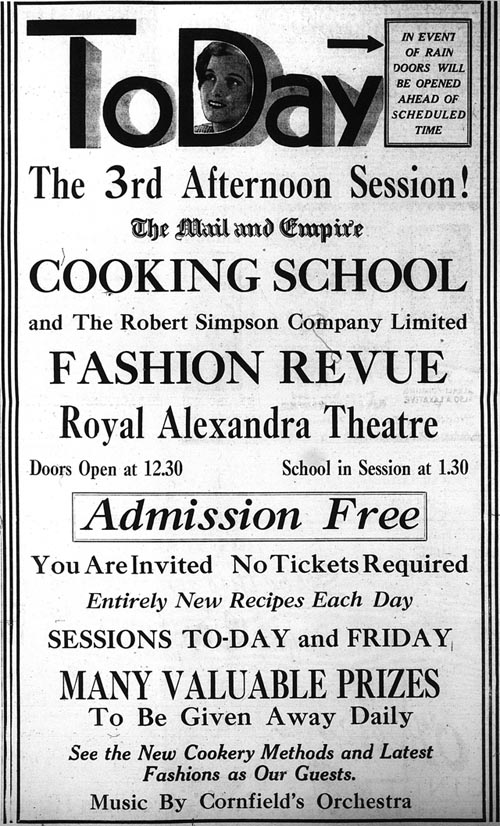 me 1933-04-06 cooking school ad