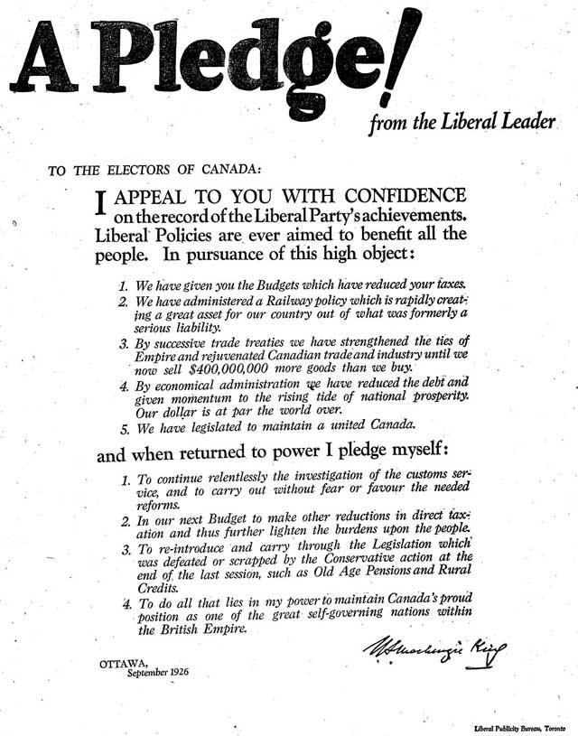 globe 26-09-11 liberals king ad