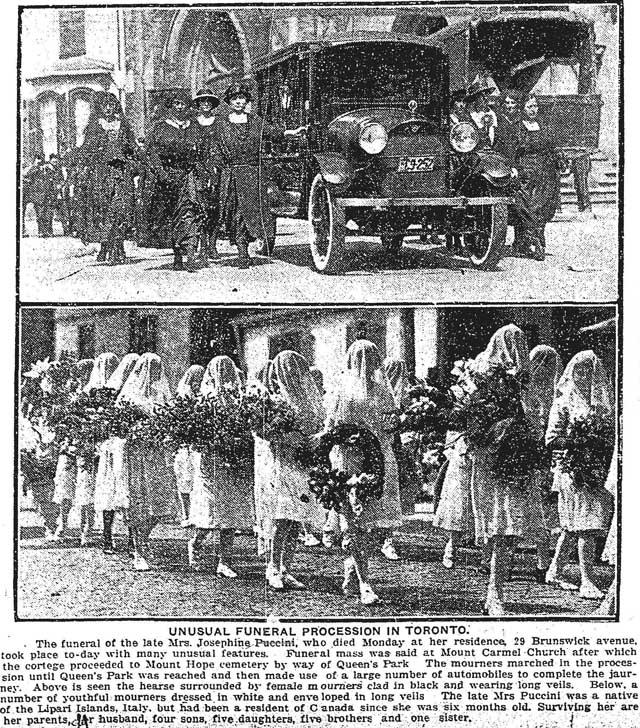 star 1922-08-22 puccini funeral procession
