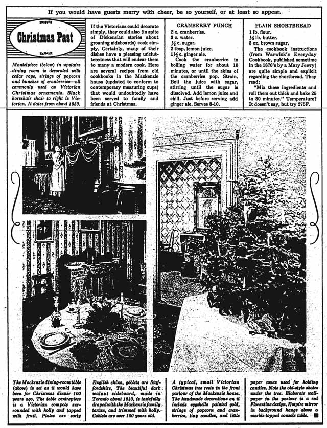 canadian homes 1963-12-10 mackenzie house xmas 2
