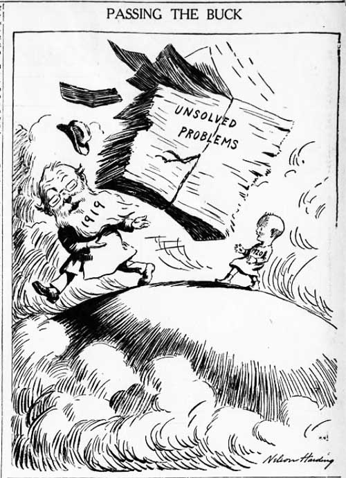 brooklyn eagle 1920-01-02 editorial cartoon