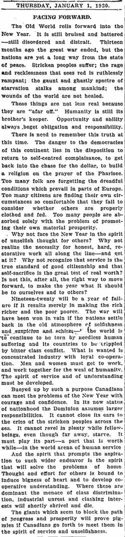 globe 1920-01-01 editorial