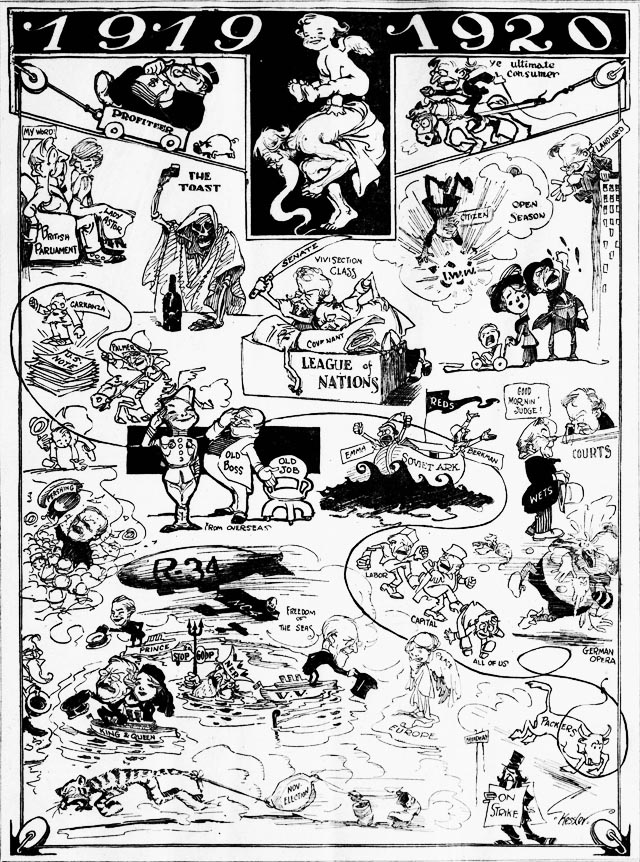 ny herald 1920-01-02 cartoon of 1919