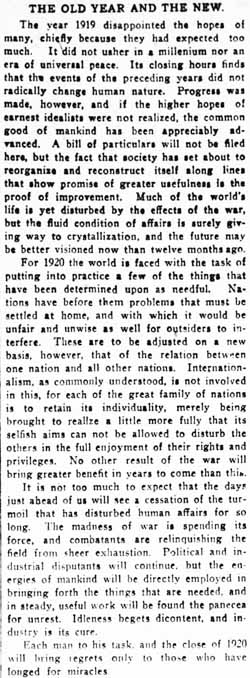 omaha daily bee 1919-12-31 editorial