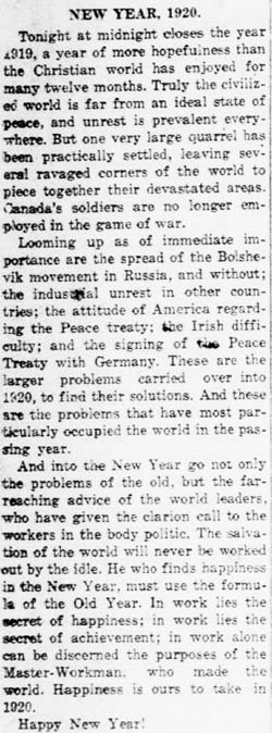 sherbrooke record 1919-12-31 editorial 6