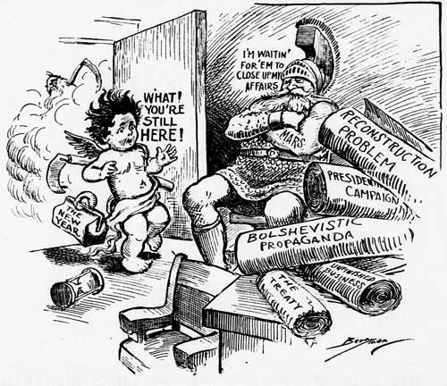 washington star 1920-01-01 front page cartoon