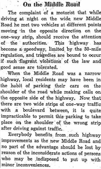 star 1937-11-23 editorial on the middle road