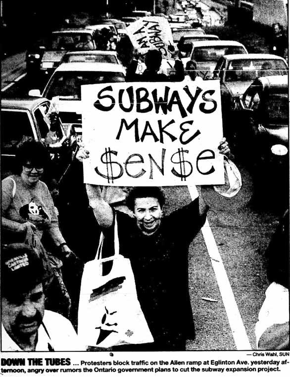 sun 95-07-21 subway protest